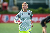 Boston, MA - Sunday September 10, 2017: Britt Eckerstrom during a regular season National Women's Soccer League (NWSL) match between the Boston Breakers and Portland Thorns FC at Jordan Field.