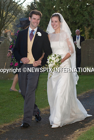 """HARRY MEADE AND ROSIE BRADFORD WEDDING.Attend the wedding of friends Harry Meade and Rosie Bradford at the Church of St Peter & St Paul, Northleach_Gloucestershire_23/10/2010.Mandatory Credit Photo: ©Carnall/NEWSPIX INTERNATIONAL..**ALL FEES PAYABLE TO: """"NEWSPIX INTERNATIONAL""""**..IMMEDIATE CONFIRMATION OF USAGE REQUIRED:.Newspix International, 31 Chinnery Hill, Bishop's Stortford, ENGLAND CM23 3PS.Tel:+441279 324672  ; Fax: +441279656877.Mobile:  07775681153.e-mail: info@newspixinternational.co.uk"""