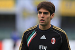 Brasilian AC Milan player Kaka in action during the Serie A football match Chievo Verona vs AC Milan at Verona, on November 10, 2013.