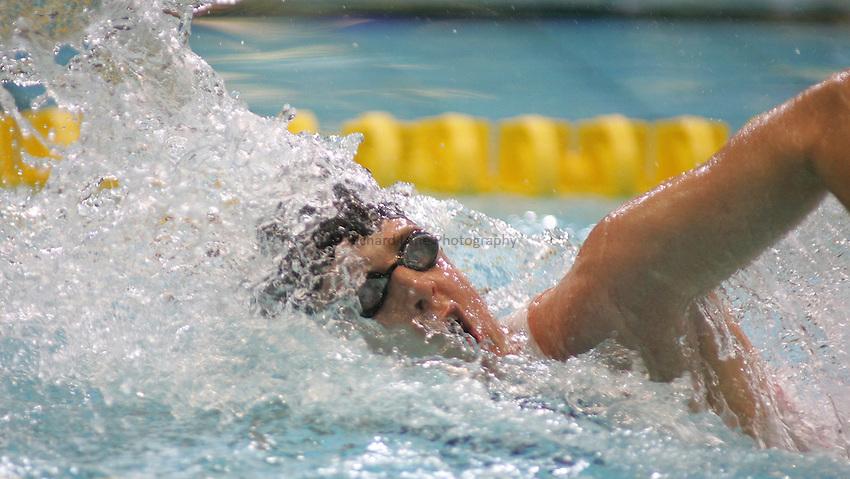 Photo: Paul Thomas..VISA Paralympic World Cup 2007. Swimming. 12/05/2007...Matthew Walker of Great Britain.