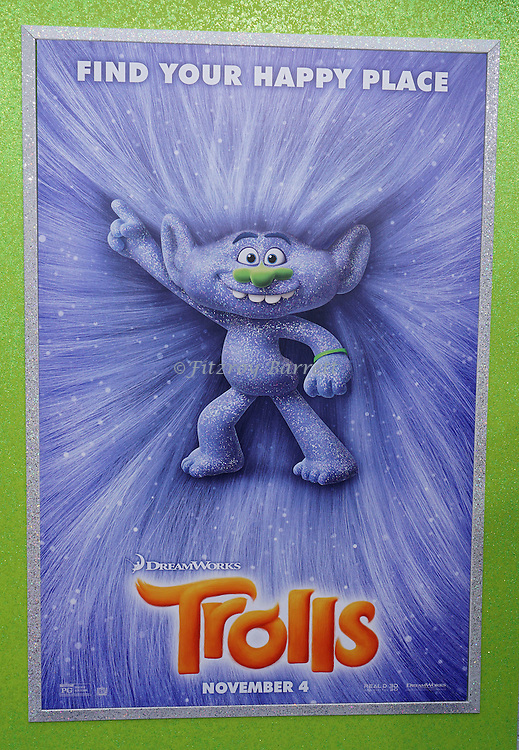 The Los Angeles premiere of Trolls held at the Regency Village Theater Westwood, CA. October 23, 2016.
