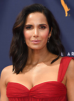 09 September 2018 - Los Angeles, California - Padma Lakshmi. 2018 Creative Arts Emmy Awards - Arrivals held at Microsoft Theater. <br /> CAP/ADM/BT<br /> &copy;BT/ADM/Capital Pictures