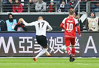 Kevin-Prince Boateng (Eintracht Frankfurt) erzielt das 1:0 - 17.03.2018: Eintracht Frankfurt vs. 1. FSV Mainz 05, Commerzbank Arena