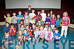 Some of the budding young jugglers who took part in the Fossetts Circus Workshops on Friday in Waterville.