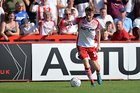 James Ferry of Stevenage during Stevenage vs Tranmere Rovers, Sky Bet EFL League 2 Football at the Lamex Stadium on 4th August 2018