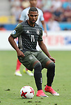 Germany's Serge Gnabry in action during the UEFA Under 21 Semi Final at the Stadion Miejski Tychy in Tychy. Picture date 27th June 2017. Picture credit should read: David Klein/Sportimage