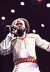 EARTH WIND & FIRE 1981 Maurice White.© Chris Walter.