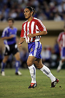 10 September 2005: Juan Francisco Palencia of the CD Chivas USA in action against the Earthquakes at Spartan Stadium in San Jose, California.    San Jose Earthquakes defeated CD Chivas USA, 3-0.