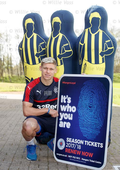 Martyn Waghorn promoting season ticket renewals