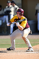 March 7, 2010:  Brendan Emmett (12) of the Central Michigan Chippewas during game at Jay Bergman Field in Orlando, FL.  Central Michigan defeated Central Florida by the score of 7-4.  Photo By Mike Janes/Four Seam Images