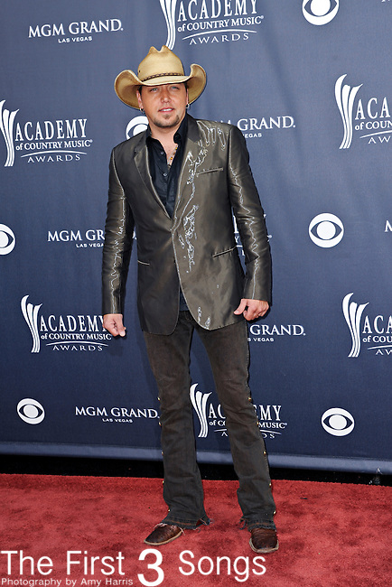 Jason Aldean attends the 46th Annual Academy of Country Music Awards in Las Vegas, Nevada on April 3, 2011.