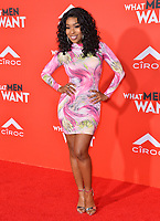 LOS ANGELES, CA. January 28, 2019: Porsha Williams at the US premiere of &quot;What Men Want!&quot; at the Regency Village Theatre, Westwood.<br /> Picture: Paul Smith/Featureflash