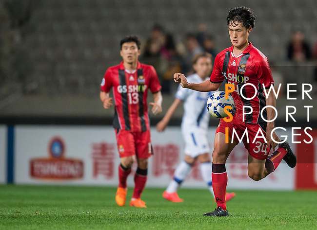 FC Seoul vs Gamba Osaka during their 2015 AFC Champions League Round of 16 1st Leg match on May 20, 2015 at the Seoul World Cup Stadium, in Seoul, Korea Republic. Photo by Victor Fraile / Power Sport Images