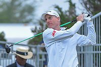 Jim Furyk (USA) watches his tee shot on 10 during Round 3 of the Valero Texas Open, AT&amp;T Oaks Course, TPC San Antonio, San Antonio, Texas, USA. 4/21/2018.<br /> Picture: Golffile   Ken Murray<br /> <br /> <br /> All photo usage must carry mandatory copyright credit (&copy; Golffile   Ken Murray)