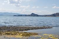 Mongolia, Bayan-Ulgii, Ulgii, lake.