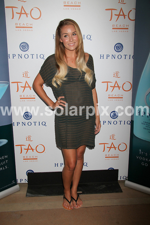 **ALL ROUND PICTURES FROM SOLARPIX.COM**.**SYNDICATION RIGHTS FOR UK, AUSTRALIA, DENMARK, PORTUGAL, S. AFRICA, SPAIN & DUBAI (U.A.E) & ASIA (EXCLUDING JAPAN) ONLY**.Lauren Conrad Hosts at Tao Beach, Venetian Hotel and Casino, Las Vegas, NV, USA, 31 July 2010.This pic: Lauren Conrad.JOB REF: 11810    PHZ  prn  DATE: 31_07_2010.**MUST CREDIT SOLARPIX.COM OR DOUBLE FEE WILL BE CHARGED**.**MUST NOTIFY SOLARPIX OF ONLINE USAGE**.**CALL US ON: +34 952 811 768 or LOW RATE FROM UK 0844 617 7637**