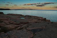 Coastline Near Thunder Hole, Looking Towards Great Head,  Acadia National Park, Maine