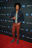 "LOS ANGELES, CA. August 29, 2018: Johnathan Fernandez at the premiere of ""KIN"" at the Arclight Theatre, Hollywood."