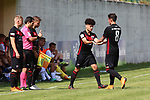 29th of July 2018, Roncone, Italy; Pre Season football friendly Primavera, Hellas Verona versus FC Ingolstadt 04; Kraus leaves the pitch, Credit: Pierre Teyssot / Nicer