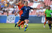 Sandy, Utah - Thursday June 07, 2018: Lindsey Horan during an international friendly match between the women's national teams of the United States (USA) and China PR (CHN) at Rio Tinto Stadium.