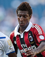 AC Milan midfielder Kevin Constant (21).  AC Milan defeated Olimpia 3-1 at Gillette Stadium on August 4, 2012