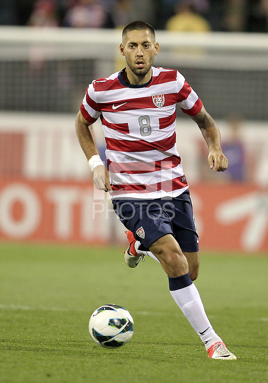 COLUMBUS, OHIO - SEPTEMBER 11, 2012:  Clint Dempsey (8) of the USA MNT against Jamaica during a CONCACAF 2014 World Cup qualifying  match at Crew Stadium, in Columbus, Ohio on September 11. USA won 1-0.
