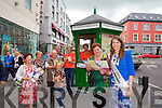 Hotel room are almost booked out for the rose of Tralee festival, but the the Voluntees of the Tourist Information will point you in the right direction to any vacancies Pictured l-r Joan O'Regan, Tidy Towns, Eleanor Collins, Lily Pozzi, Eddie Bailey, Billy Daly, Claire Needham,  Ann Boyle, Triona Houlihan, and Kerry rose Mary Hickey.