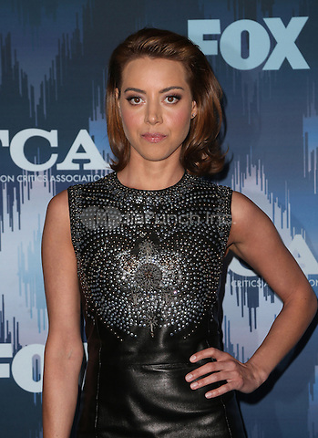 Pasadena, CA - JANUARY 11: Aubrey Plaza, At 2017 Winter TCA Tour - FOX All-Star Party, At Langham Hotel In California on January 11, 2017. Credit: Faye Sadou/MediaPunch