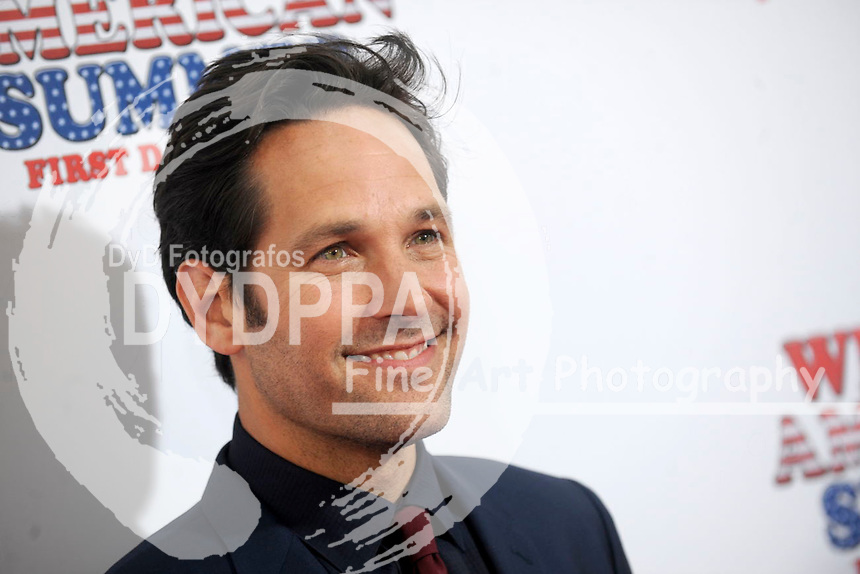 Paul Rudd attending  the 'Wet Hot American Summer: First Day of Camp' Netflix series premiere at SVA Theater on July 22, 2015 in New York City