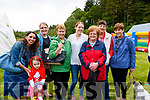 At the Annual Glencar Cattle Show on Sunday<br /> L-R Breda O'Mahony, Breda Courtney, Maureen Courtney Aileen Coffey, Mary O'Shea, Mary Foley, Nora Coffey, all from Glencar<br /> Caoimhe O'Shea.