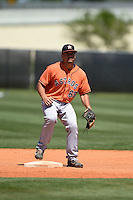 Houston Astros Nick Tanielu (89) during a minor league spring training game against the Atlanta Braves on March 29, 2015 at the Osceola County Stadium Complex in Kissimmee, Florida.  (Mike Janes/Four Seam Images)