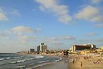 Israel, a view of Herzliya Beach