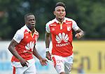 Independiente Santa Fe venció 0-2 a Leones. Fecha 17 Liga Águila II-2018.