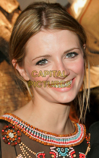 "MISCHA BARTON.Outside Saks Fifth Avenue attending the ""Want It!"" launch party hosted by Vanity Fair, New York, NY, USA..September 13th, 2006.Ref: ADM/JL.headshot portrait.www.capitalpictures.com.sales@capitalpictures.com.©Jackson Lee/AdMedia/Capital Pictures."