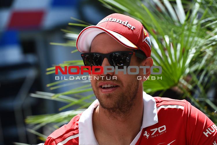 27.04.2017, Sochi Autodrom, Sochi, FORMULA 1 VTB RUSSIAN GRAND PRIX,  28.04. - 30.04.2017<br /> Sebastian Vettel (GER#5), Scuderia Ferrari<br /> <br /> <br /> <br /> Foto &copy; nordphoto / Bratic