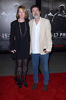 "LOS ANGELES - FEB 5:  Ann Cusack, Jim Piddock at the ""The 15:17 To Paris"" World Premiere at the Warner Brothers Studio on February 5, 2018 in Burbank, CA"