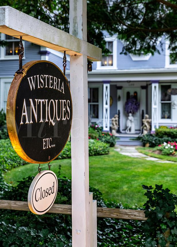 Wisteria Antique shop in Brewster.