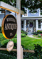 Wisteria Antique shop in Brewster.