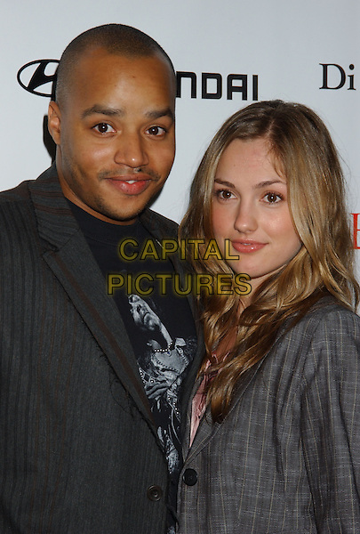 DONALD FAISON & MIKKA KELLY.Movieline's Hollywood Life Honors 2004 Breakthrough Awards held at the Henry Fonda Music Box Theatre. .December 12th, 2004.headshot, portrait.www.capitalpictures.com.sales@capitalpictures.com.© Capital Pictures.