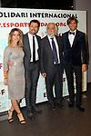 XIV Sopar Solidari de Nadal.<br /> Esport Solidari Internacional-ESI.<br /> Anna Senan, Octavi Pujades, Josep Maldonado &amp; Erick Putzbach.