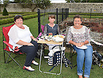 Patricia and Annette Faulkner and Bernadette Black pictured at Wuthering Heights at Oldbridge House. Photo:Colin Bell/pressphotos.