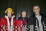 Sue Carr, Louis Brassil Ballymac and John Lannigan Killarney at International Showjumper Cian O'Connor display in Faha on Saturday evening