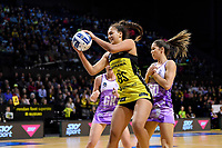 Pulse&rsquo; Aliyah Dunn in action during the ANZ Premiership - Pulse v Stars at TSB Arena, Wellington, New Zealand on Monday 13 May 2019. <br /> Photo by Masanori Udagawa. <br /> www.photowellington.photoshelter.com