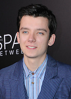 "17 January 2017 - Hollywood, California - Asa Butterfield. 2017 ""The Space Between Us"" special Los Angeles screening held at Arclight Hollywood. Photo Credit: Birdie Thompson/AdMedia"