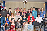 21ST CELEBRATIONS: Anneke Blennerhassett, Fenit (seated 3rd right) with many of her family and friends who celebrated her 21st birthday at Tralee Sailing Club, Fenit on Saturday night.    Copyright Kerry's Eye 2008