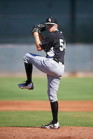 Chicago White Sox pitcher Jake Elliott (54) during an Instructional League game against the Cincinnati Reds on October 11, 2016 at the Cincinnati Reds Player Development Complex in Goodyear, Arizona.  (Mike Janes/Four Seam Images)