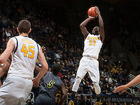 Jabari Bird of California shoots the ball during the game against UC Irvine at Haas Pavilion in Berkeley, California on December 2nd, 2013.  California defeated UC Irvine, 73-56.