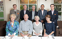 The Oxy Fund Executive Council Dinner meets in Morrison Lounge on Oct. 19, 2018 during Homecoming and Family Weekend 2018.<br /> (Photo by Marc Campos, Occidental College Photographer)