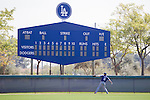 Kenta Maeda (Dodgers),<br /> FEBRUARY 29, 2016 - MLB :<br /> Kenta Maeda of the Los Angeles Dodgers plays catch during the Los Angeles Dodgers spring training baseball camp in Glendale, Arizona, United States. (Photo by Thomas Anderson/AFLO) (JAPANESE NEWSPAPER OUT)
