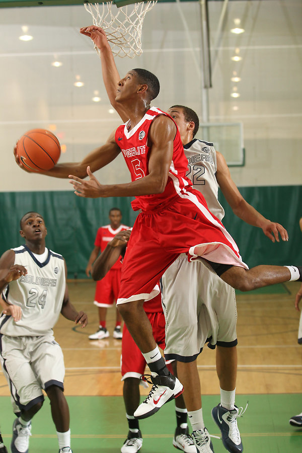 April 8, 2011 - Hampton, VA. USA; Stetson Billings participates in the 2011 Elite Youth Basketball League at the Boo Williams Sports Complex. Photo/Andrew Shurtleff